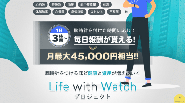 Life with Watchプロジェクト2
