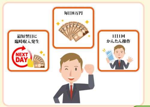 臨時収入8万円キャンペーン